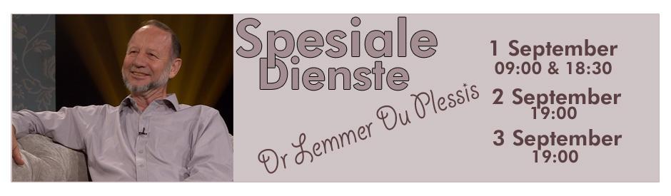 Dr Lemmer du Plessis slide